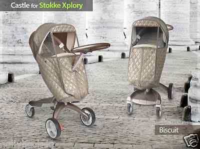 MANITO Castle Stroller Weather Shield Rain Snow Winter Cover for Stokke Xplory 3
