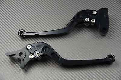 levier leviers levers court short CNC black noir Kawasaki ZX6R 636 ZX6-R 2013-15