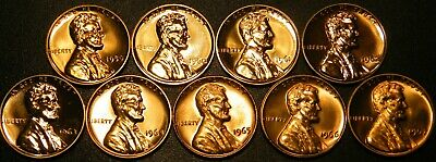 1996~2020 S Lincoln Penny Choice ~ Gem Proof Run 28 Coin Decade Set US Mint Lot