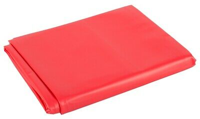 Lack Laken Bettlaken Vinyl Laken Massage Auflage Gummifeeling Rot 200 x 230cm 9