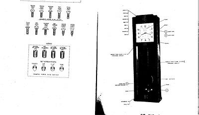 1958 IBM Time Recorder Punch Clock Parts Listing (BOM) - Digital File + Reprint 2