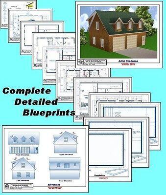 24x32 garage apartment plans package blueprints for 24x32 garage plans