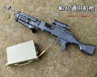 1//6 1:6 PUBG M240 RPK74 AK47 AS VAL G36K PKP TAVOR Machine Gun Rifle 8PCS