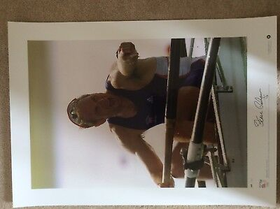 signed Team GB Olympic Gold Prints - complete set of 7 3