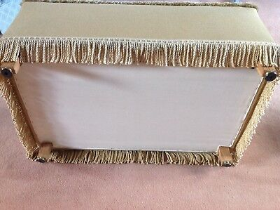 Antique Tapestry Ottoman 4