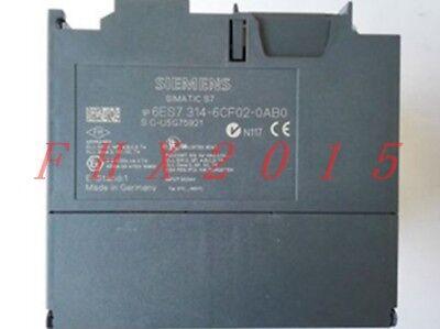ONE USED Siemens 6ES7314-6CF02-0AB0 6ES7 314-6CF02-0AB0 2