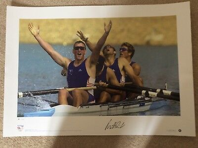 signed Team GB Olympic Gold Prints - complete set of 7 2