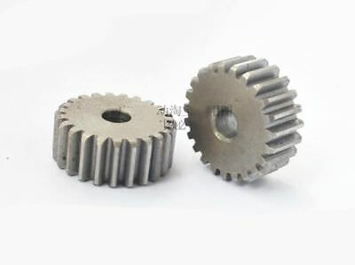45# Steel Motor Spur Pinion Gear 2M16T 2Mod 16Tooth Thickness 20mm x 1Pcs 2