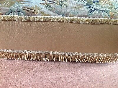 Antique Tapestry Ottoman 3