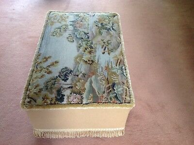 Antique Tapestry Ottoman 5
