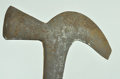 VTG Antique Garden Tools Wrought Mistletoe Cutter head billhook axe harvester 5