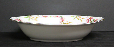"""Vintage """"Blossomtime"""" Oval Serving Bowl - Narumi Japan-Cherry Blossoms 2"""
