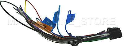 KENWOOD KDC-BT645U KDCBT645U Wire Harness Factory Original *Ships Same on