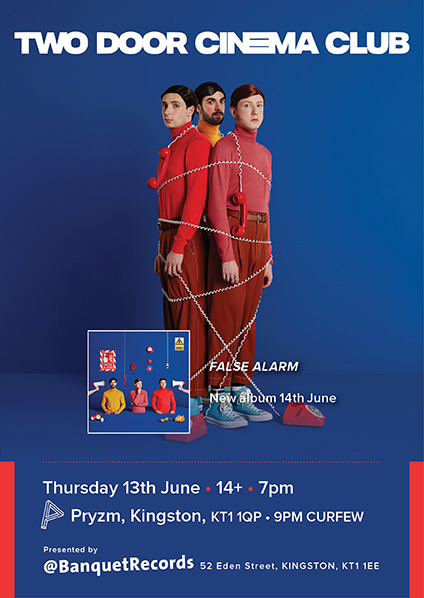 Two Door Cinema Club - False Alarm - CD Album (Released 21st June 2019) New 2