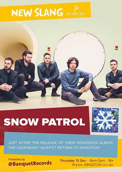 Snow Patrol - Reworked - CD Album (Released 8th November 2019) Brand New 2