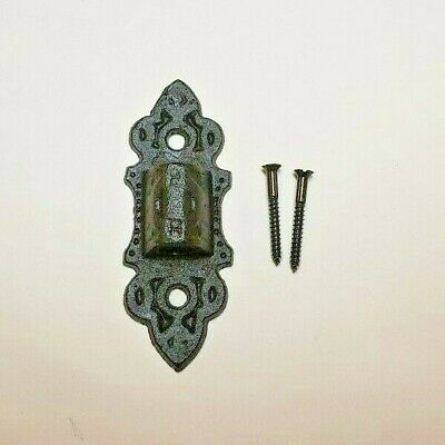 "9"" Cast Iron Wall Bracket For Oil Lamp Early American / Victorian Style 73805Jb 5"