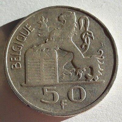 50 Francs 50 Frank Mercure Baudouin Charles 1948 ==> 1954 FR NL Belgique Belgïe 2
