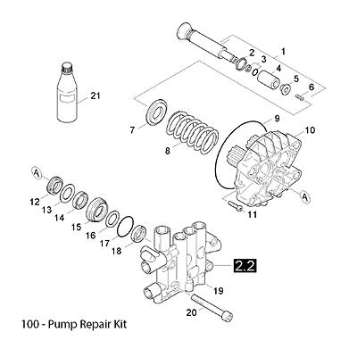 KARCHER FIT HDS 645, 655, 745, 750, 755, 895 Pump Seal Kit