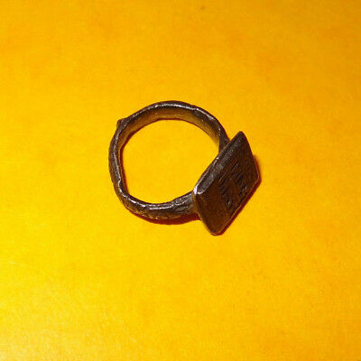 Ancient ring - Original  ancient ring - medieval - Byzantine ring - silver 4