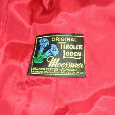 roter Mantel von *Original Tiroler Loden - Moessmer* / B: 44cm L: 115cm) 2