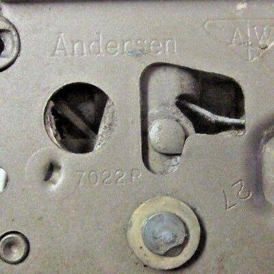Andersen Casement Sash Lock 7022R: Right Hand, Left Hinged Window, Down=Locked 5