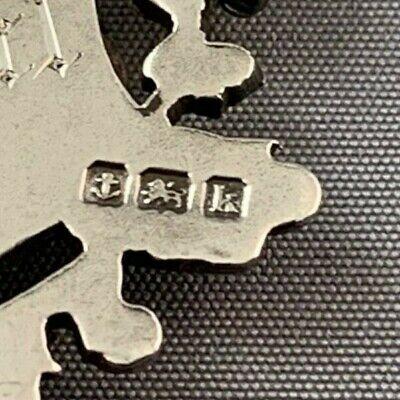 Sterling Silver Award Badge - Scott Elliott Shield 1909 (M#127) 3
