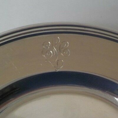 "Set/12 International LORD SAYBROOK Sterling Silver 6"" Bread & Butter Plates 3"