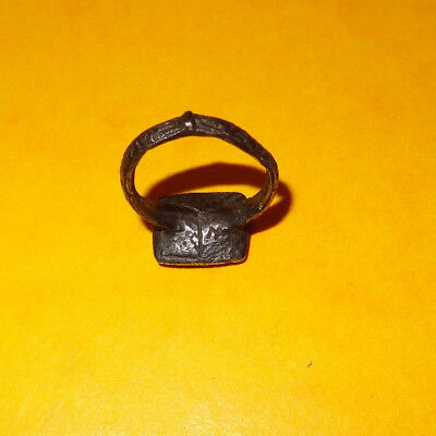 Byzantine ring - Original  ancient ring - medieval ring - silver - 11th/13th c. 5
