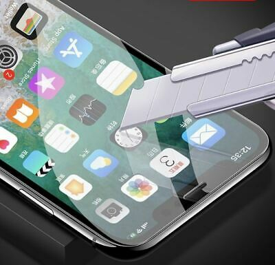 iPhone XS Max XR X 9H Full Screen Coverage Tempered Glass Screen Protector Apple 5