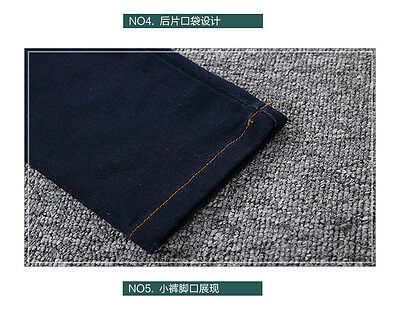 kid Denim overalls 2PC Long sleeve Plain Shirt+Overalls Jeans Girls Size 3-16YRS 6