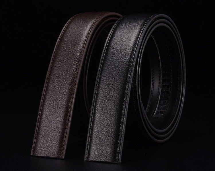 7 sur 12 hommes non boucle ceinture cuir synthétique AUTOMATIQUE lanière  affaires taille 101c27c0134