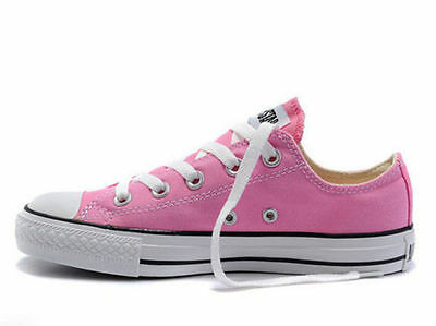 Men Womens Canvas All-Star Shoes Low Top High Top Sneakers Chuck Taylor Trainers