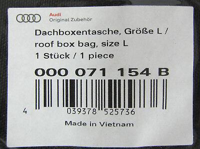 Audi 000 071 154 B Dachboxentasche Gr/ö/ße L