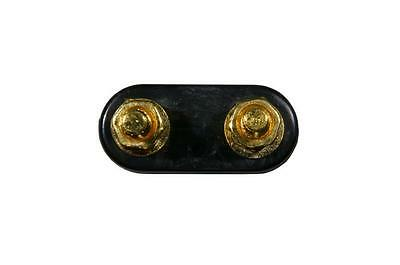 #601-001Q6 6-pack Binding Post Speaker Amp Terminal 5-way Gold Plated