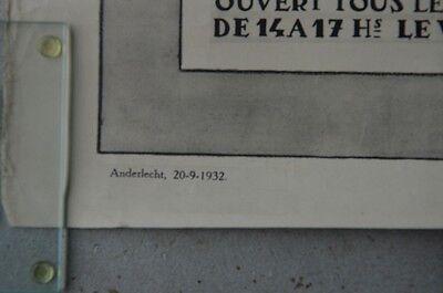 Affiche 1932 !  La Maison d'Erasme & la collégiale des Saints-Pierre-et-Guidon 7