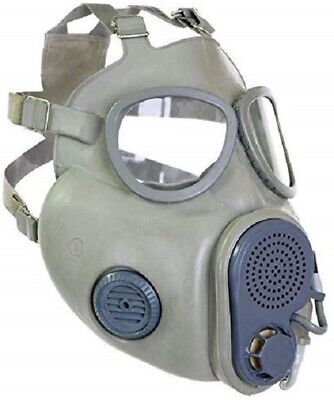 Military Czech Gas Mask M10M Hydration Straw Filters Bag Emergency Survival NBC 2
