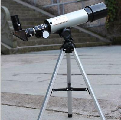 Telescopio Monoculare Astronomico Rifrangente Con Treppiede Cavalletto Stelle 2