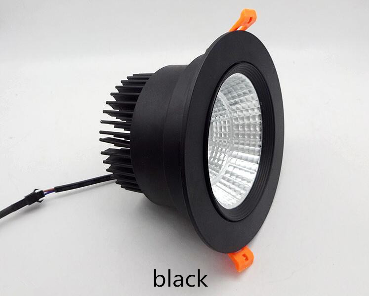 3W 5W 7W 9W 12W 15W 20W COB LED Recessed Ceiling Downlight Spot Light Bulb Kits 4