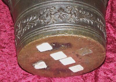 Italien Bronze Mörser Apotheke Postament Sizilien Catania Zanghi 1520 / 1820 8