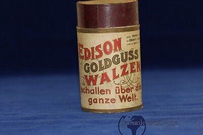 Vorkriegsaufnahmen Mechanische Musik Edison Goldguss Walze Marseillaise 40 Rouget De Lisle Edison Concert Kapelle