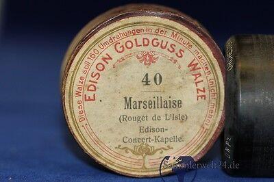 Antiquitäten & Kunst Musikinstrumente Edison Goldguss Walze Marseillaise 40 Rouget De Lisle Edison Concert Kapelle