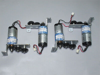 THINK DC12V-24V 350RPM mini 20mm Full Metal Gearbox Gear motor Reducer DIY Robot 12