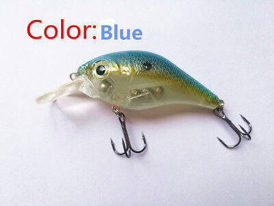 Swimbait Variation little fat Minnow 8 cm 10g Bass CrankBait Tackle Fishing lure 4