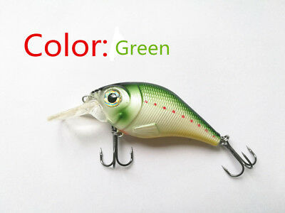 Swimbait Variation little fat Minnow 8 cm 10g Bass CrankBait Tackle Fishing lure 6