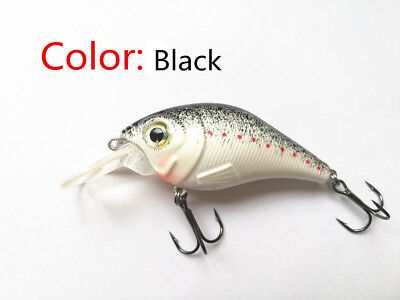 Swimbait Variation little fat Minnow 8 cm 10g Bass CrankBait Tackle Fishing lure 5