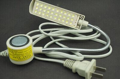 LED Lighting Flexible Gooseneck Arm Work,Magnetic Base for Workbench Lathe Drill 7