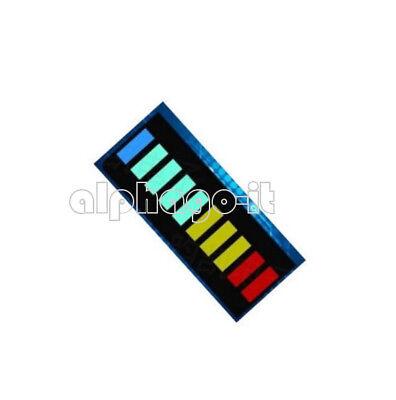 2 PCS 10 Segment LED Bargraph Light Display LED Red Yellow Green Blue