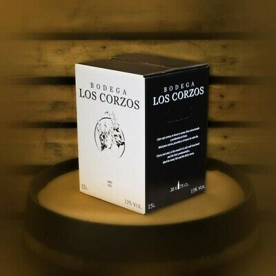 Bag in Box 15L Vino Tinto Recomendado Bodega Los Corzos,Graduación 13.0% 2