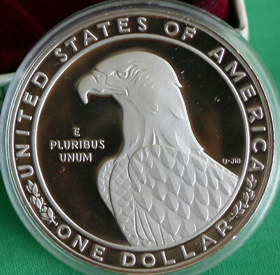 1983 S Olympic Proof Silver One Dollar Discus Thrower US Mint $1 Coin ONLY