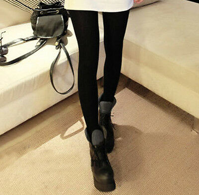 Women Winter Cable Knit Sweater Footed Tights Warm Stretch Stockings Pantyhose j 6